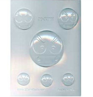 ANGRY EMOJI CHOCOLATE CANDY MOLD