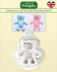 BABY TEDDY BEAR SILICONE MOLD