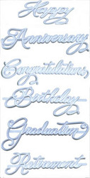 CAKE IMPRINTER SET MEDIUM SIZE INSCRIPTIONS