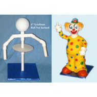 Clown Cake Sculpture Stand