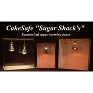 "Sugar Warming Boxes ""Sugar Shacks"" by CakeSafe--Variety of Sizes"