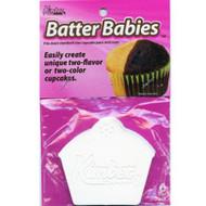 BATTER BABIES--CUPCAKE BATTER SEPARATOR--PKG/6--Overstock
