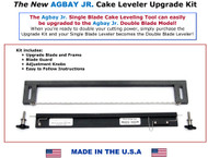 Agbay Jr. Upgradeable Add-on Upper Blade for Leveler