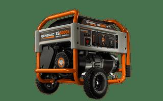 Generac 5846, 8000 Running Watts Gas Powered Portable Generator, CARB Compliant