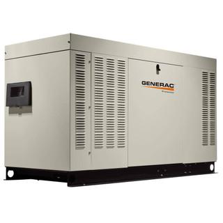 Generac RG04524ANSX 45kW (NG) Liquid-Cooled Standby Generator 1 PH Steel Enclosed