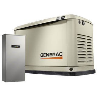 Generac 7037 16kW Air-Cooled Standby Generator, Alum Enclosure, 200SE (not CUL)