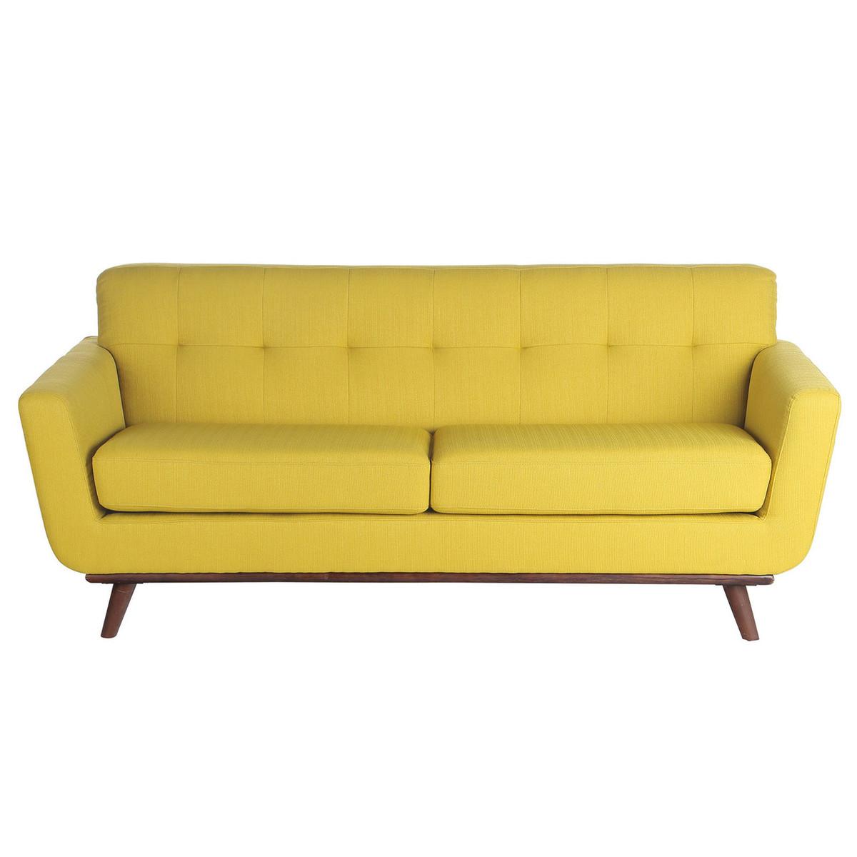 3 Seater Sofa in Yellow