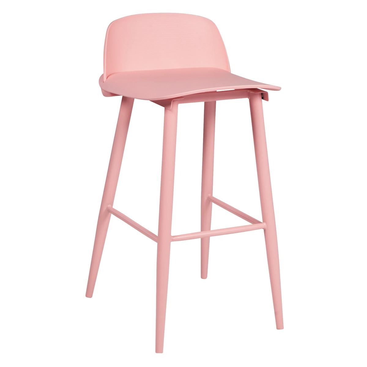 Replica NoHo Bar Stool, Pink