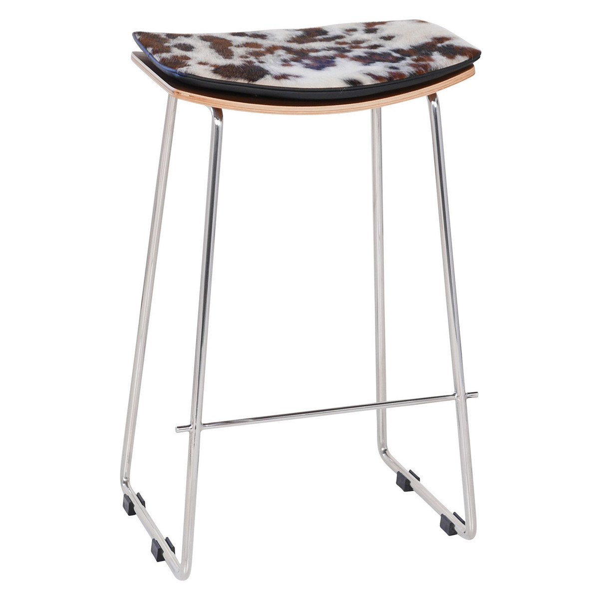 Potter Y Design Leather Cowhide Stool Replica
