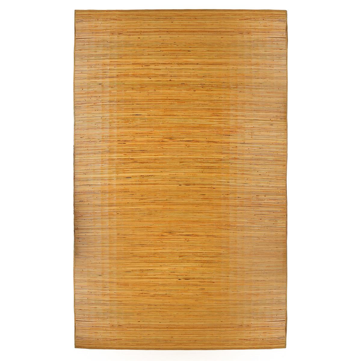 Bali Natural Bamboo Area Rug, ...