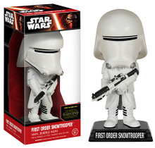 FUNKO STAR WARS EPISODE VII - THE FORCE AWAKENS: FIRST ORDER SNOWTROOPER BOBBLEHEAD FIGURE - CLEARANCE