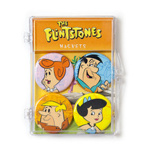 THE COOP HANNA BARBERA FLINTSTONES 4 PC MAGNET SET