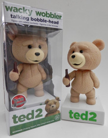 FUNKO TED 2 TALKING WACKY WOBBLER BOBBLEHEAD - R RATED VERSION - CLEARANCE