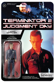 FUNKO REACTION TERMINATOR: T-1000 OFFICER ACTION FIGURE - WB