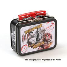 THE COOP RETRO TV TEENY TINS THE TWILIGHT ZONE: UGLINESS IS THE NORM