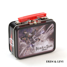 THE COOP ATTACK ON TITAN TEENY TINS: EREN & LEVI