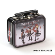 THE COOP ATTACK ON TITAN TEENY TINS: 104TH TRAINEES