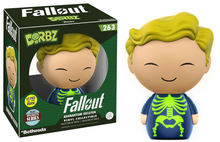 FUNKO DORBZ FALLOUT: ADAMANTIUM SKELETON GLOW IN THE DARK VINYL FIGURE - SPECIALTY SERIES - WB
