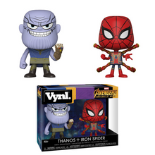FUNKO VYNL MARVEL AVENGERS - INFINITY WAR: THANOS & IRON SPIDER VINYL FIGURE 2 PACK