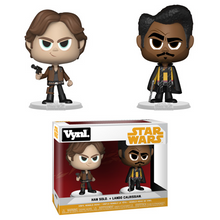 Funko Vynl. Solo - A Star Wars Story: Han Solo & Lando Calrissian Vinyl Figure 2 Pack