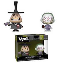 Funko Vynl. Disney The Nightmare Before Christmas: Mayor & Barrel Vinyl Figure 2 Pack
