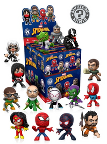 Funko Mystery Minis Marvel: Classic Spiderman 12pc Target Exclusive Vinyl Figure Assortment - Clearance