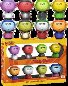 Funko Dorbz Animation Hanna Barbera Wacky Races: Lil' Gruesome Funko Shop Exclusive Vinyl Figure 8 Pack - LE 1500pcs - Clearance