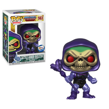 Funko POP! Television Masters Of The Universe: Metallic Battle Armor Skeletor Gemini Collectibles Exclusive Vinyl Figure