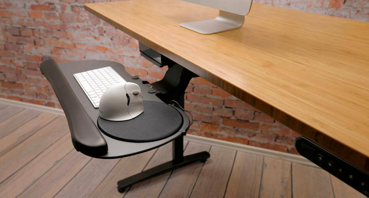 Large Keyboard Tray Shop Uplift Desk
