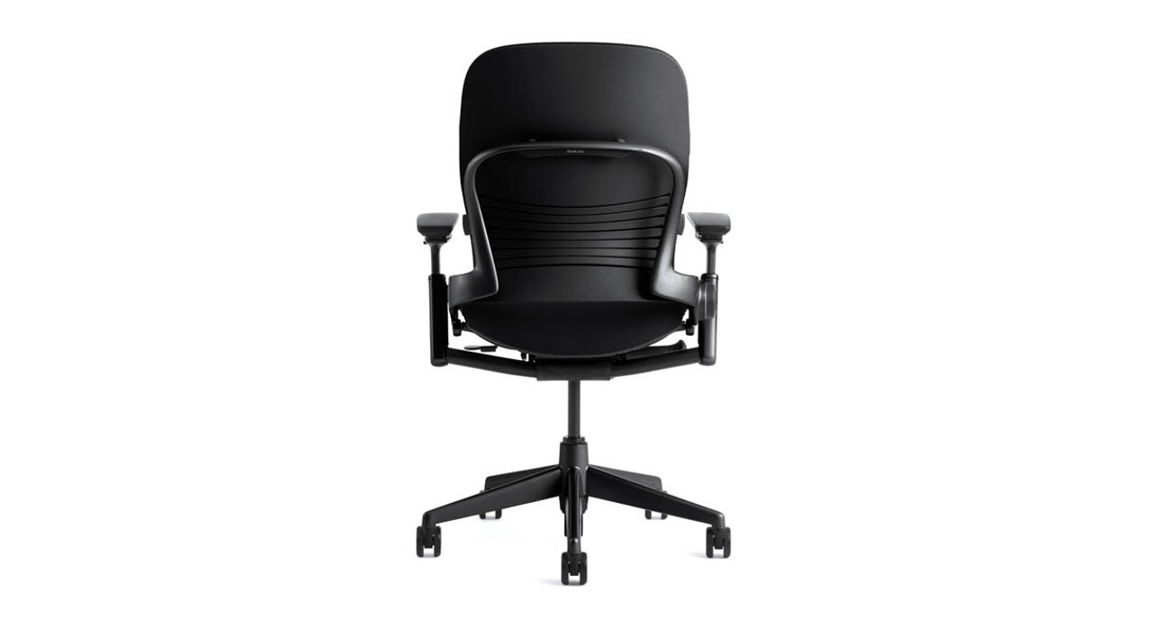 Variable Back Stop With Five Positions Is Standard On The Steelcase Leap  Chair