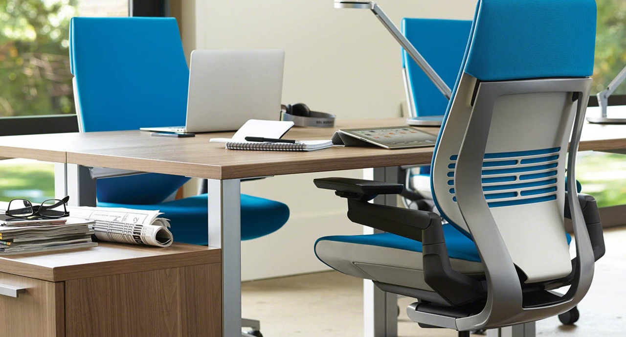 Steelcase gesture chair front - Back Tension Requires Only 3 5 Complete Turns And Accommodates A Broader Range Of Users By Allowing Gesture Chairs