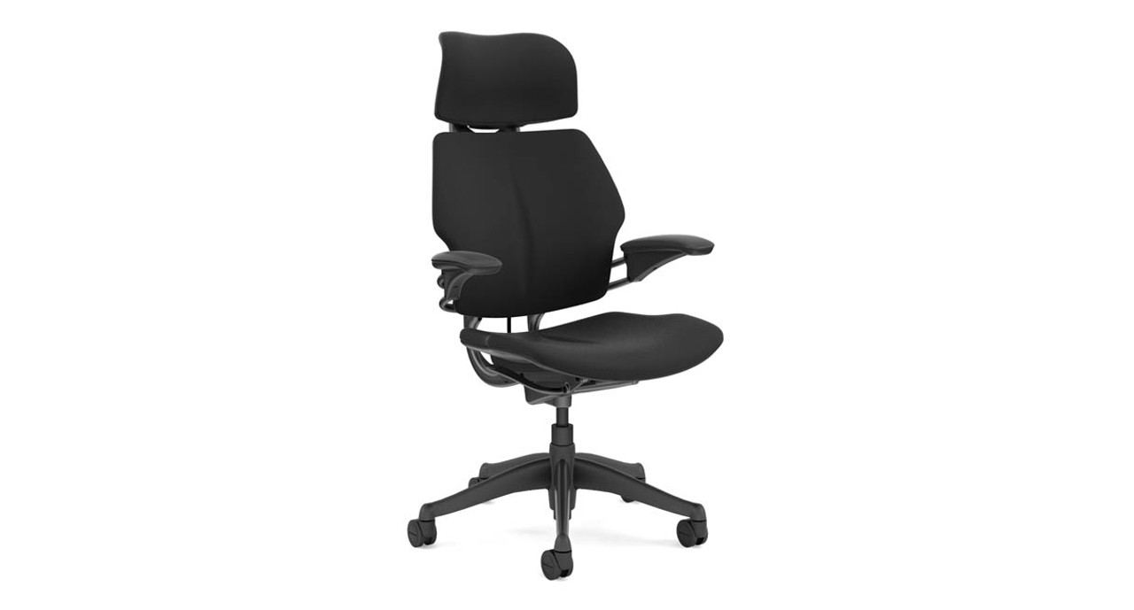 Humanscale Freedom Chair with Headrest | UPLIFT Desk