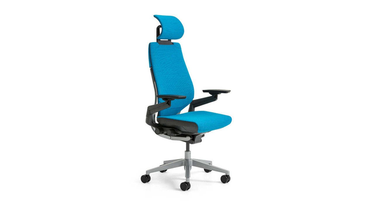 enjoy more responsive seating with the steelcase gesture chair with headrest