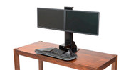 Upgrade your workstation with a complete standing desk converter