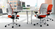 Coworkers will have much more comfort in the office with the Steelcase Leap