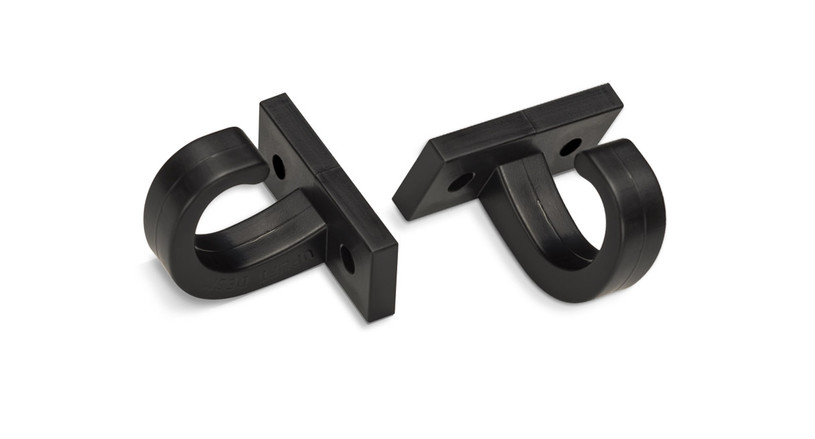UPLIFT Under Desk Accessory Hooks are an important part of wire management systems