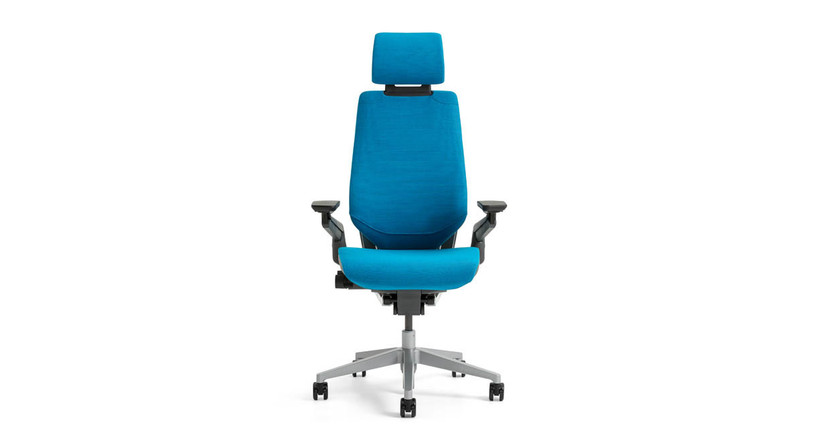 The Steelcase Gesture Chair with Headrest comes with a high degree of adjustability