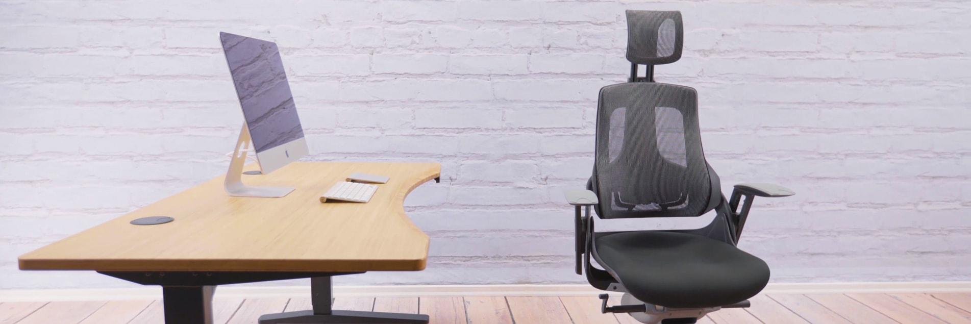 height adjustable standing desk uplift desk. Black Bedroom Furniture Sets. Home Design Ideas