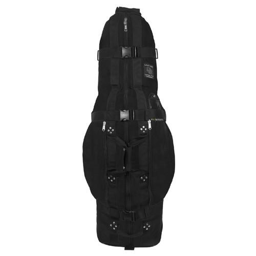 club glove last bag large pro golf travel bag black dallas golf