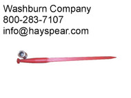 bale spear, hay tine, hay spear, hay bale spear,bale tine, bale stabber,conus spear  mc