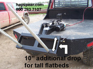 "Pickup Truck 12 v Hydraulic Hay Bale Stacker Flatbed 10""Drop"