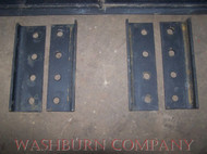 "1"" Weld on Bucket Brackets, Set of 4"