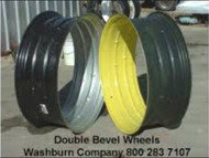 Double Bevel Tractor Wheels