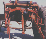 Three point hitch for Allis Chalmers B & C tractor