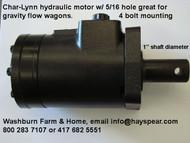 """Char-Lynn Hydraulic Motor 1"""" shaft"""