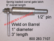 "Small 1/2"" Pin Corral Gate Latch Only"