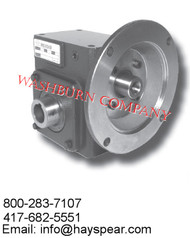 Worm Gear Reducers Flange Input- Hollow Bore Output Box Size 262