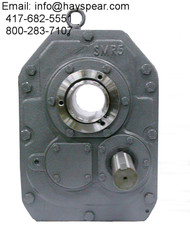 Shaft Mount Size 6 Gear Reducer 15:1 Ratio