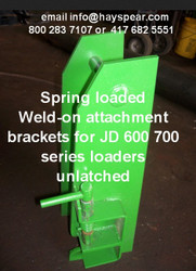 John Deere JD 600-700 Latch Box Set For Attachments