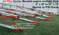"Transport Auger 8"" x 42' Electric Driven"